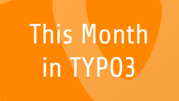 This Month in TYPO3