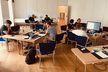 TYPO3 combined sprint in action