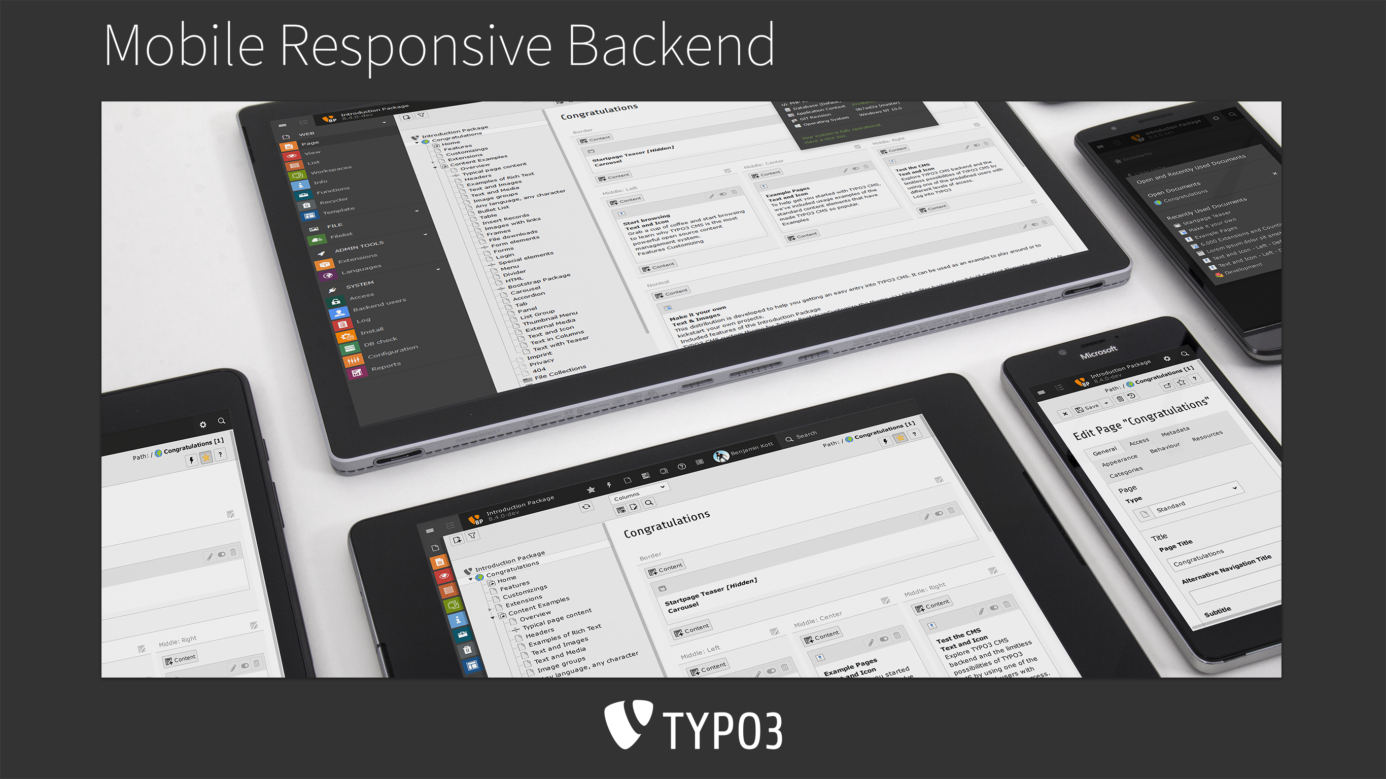 TYPO3 8 Release Notes