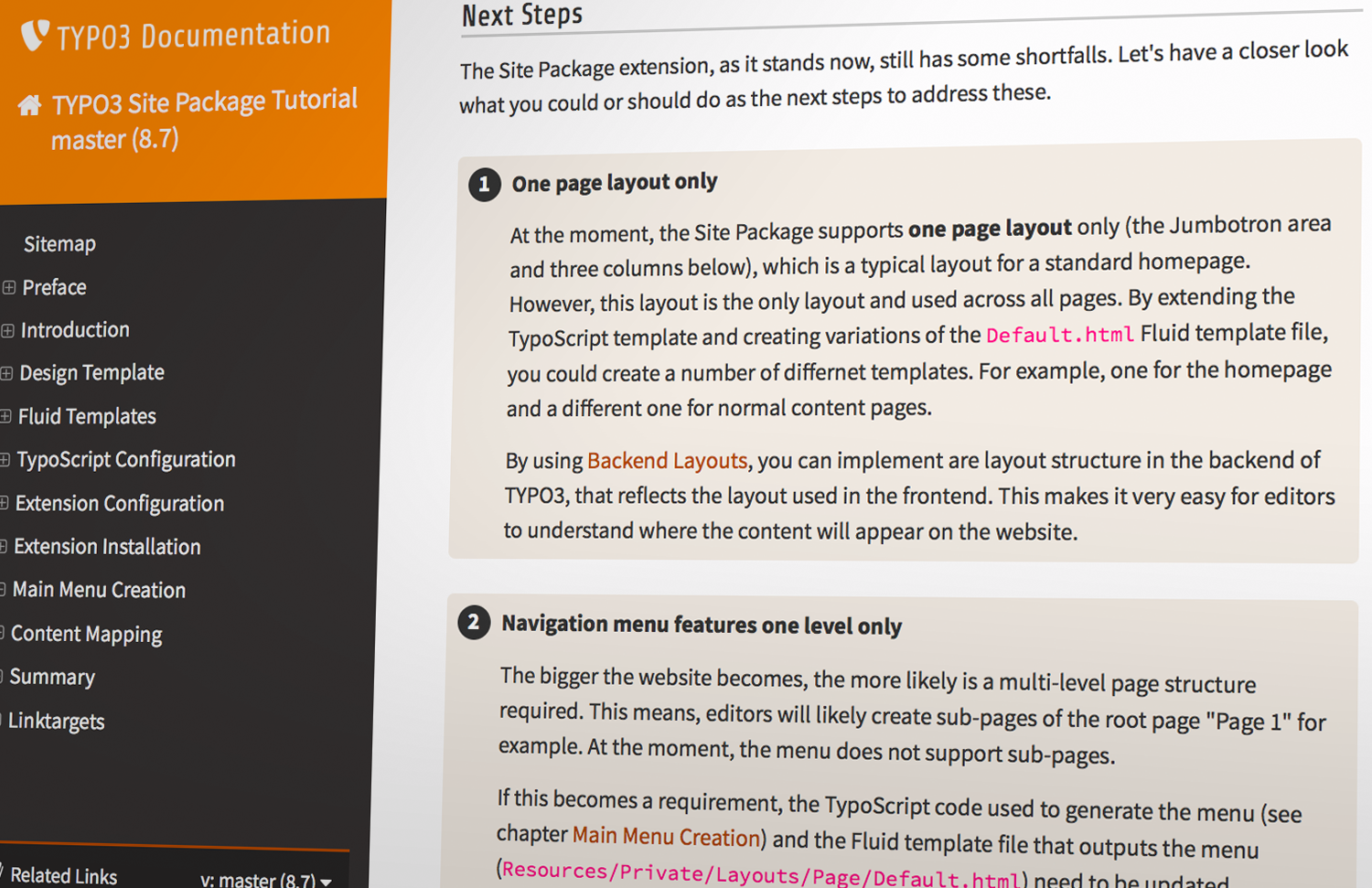 Outstanding Typo3 Templates Festooning - Example Resume Ideas ...